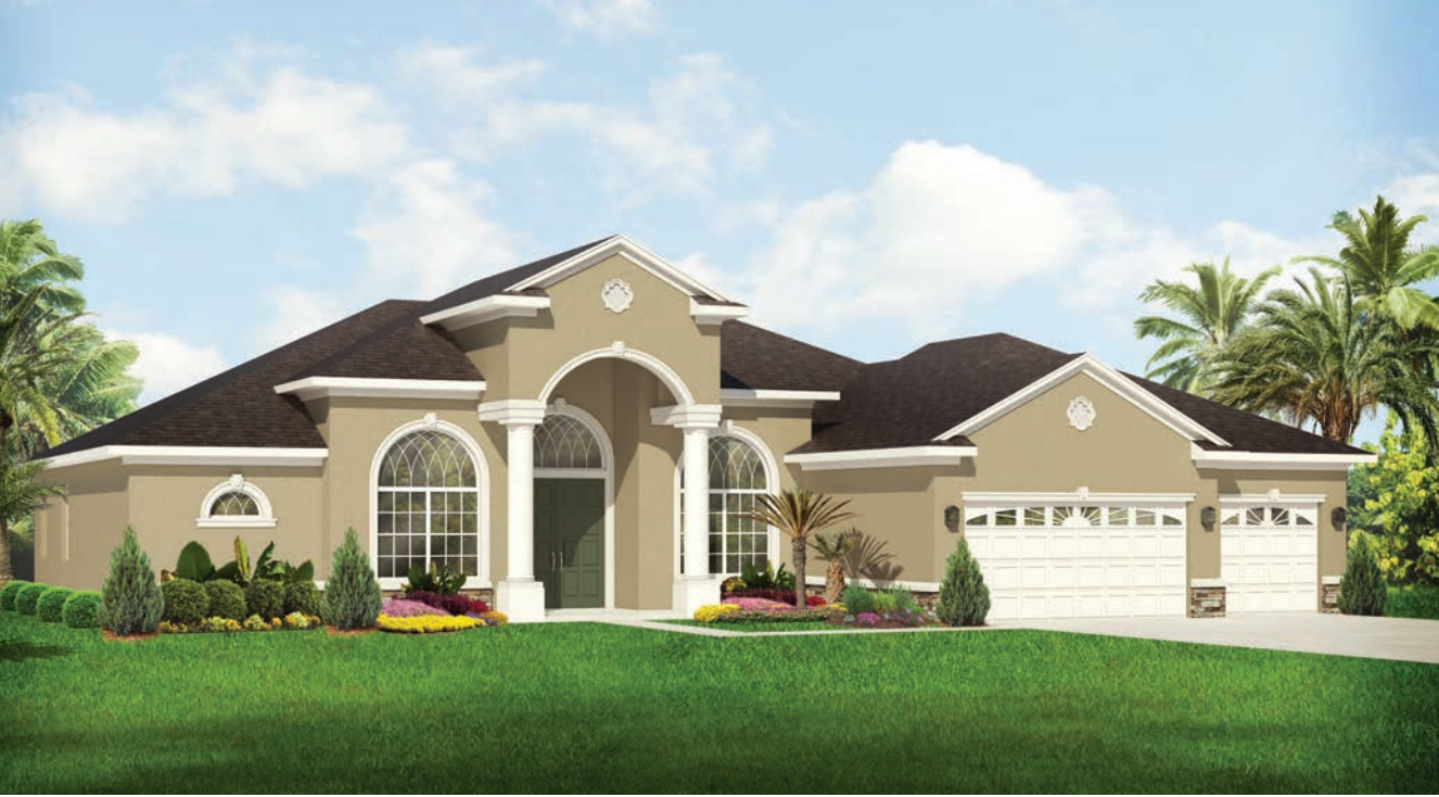 Rose Marie Home Rendering by Covenant Homes