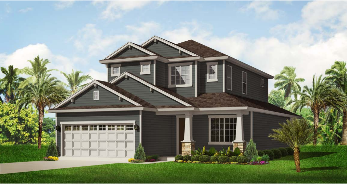 The Jean Marie Home Rendering | Covenant Homes