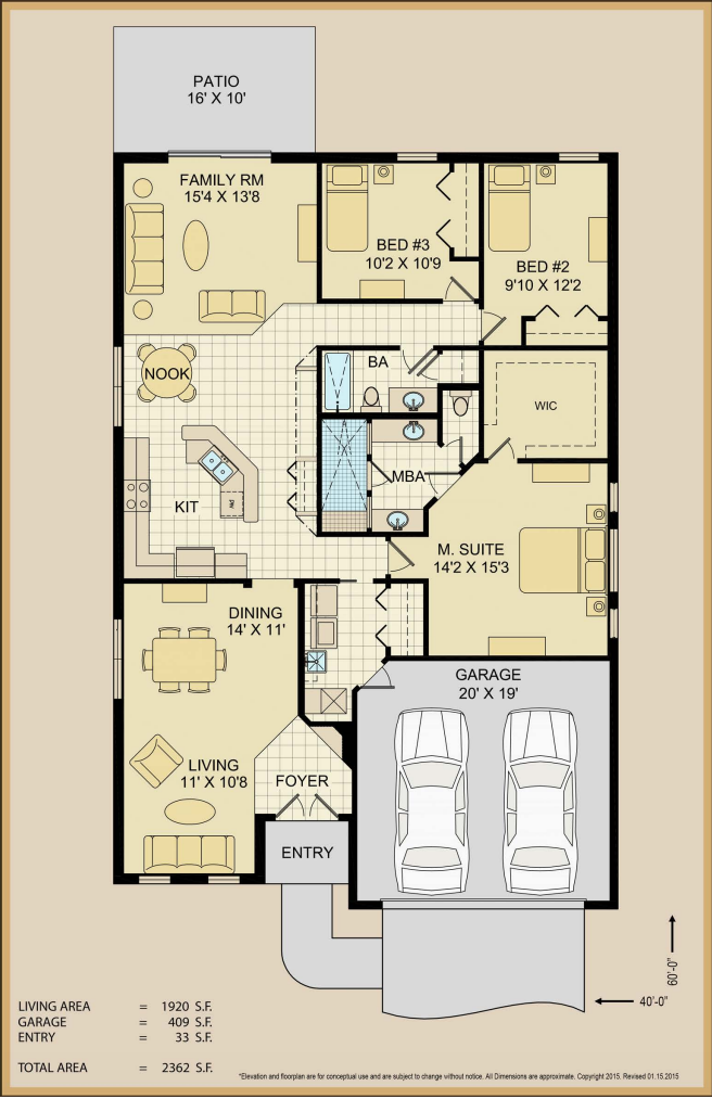Floor Plan Technical Specs | Covenant Homes