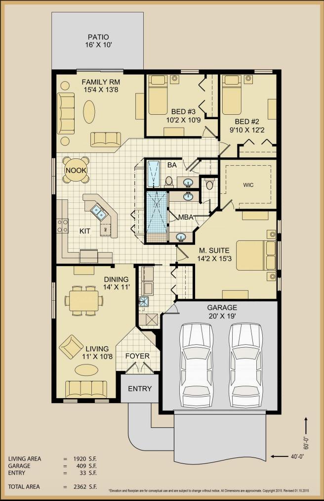Floor Plan Technical Specs | Covenant Homes