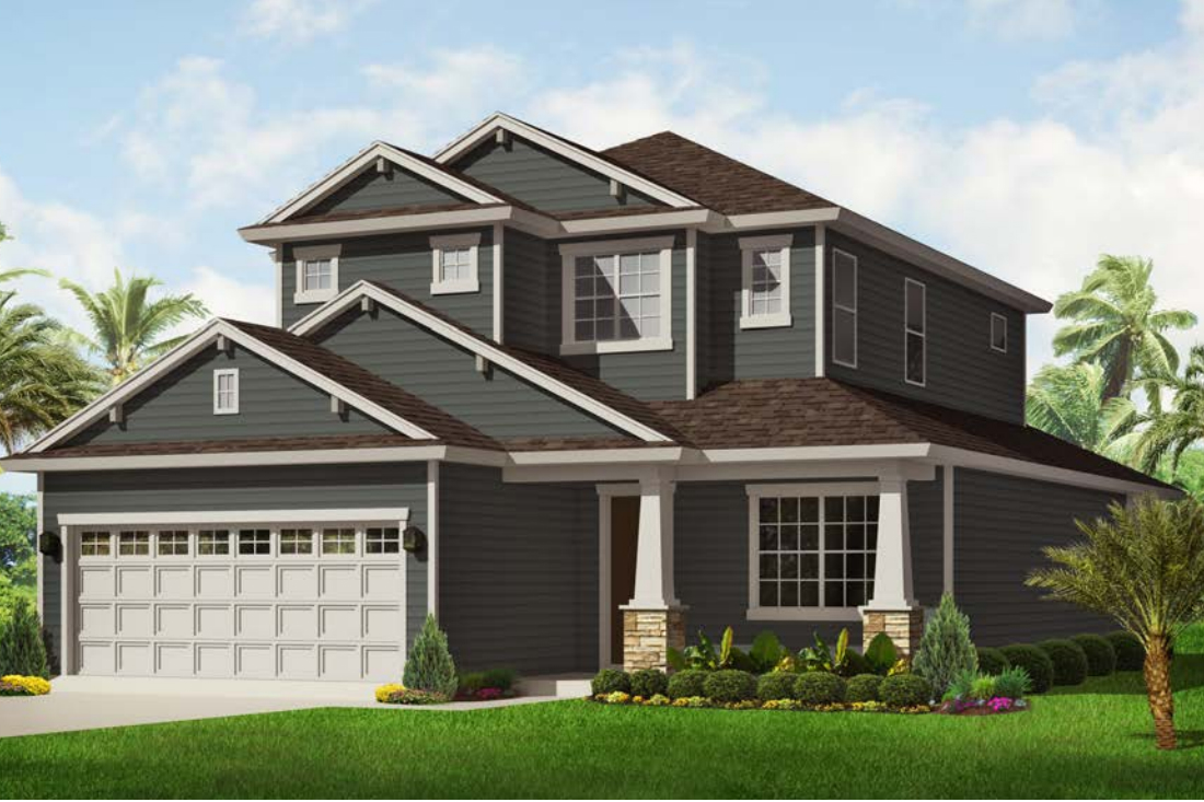 Jean Marie Home Rendering | Covenant Homes