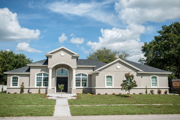 Front View of Home by Covenant Homes