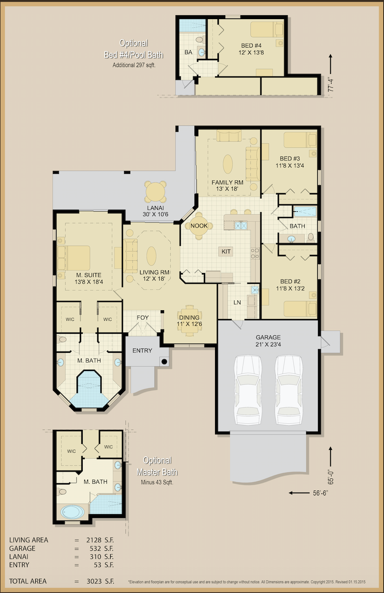 Barbara Anne Home Floor Plan | Covenant Homes