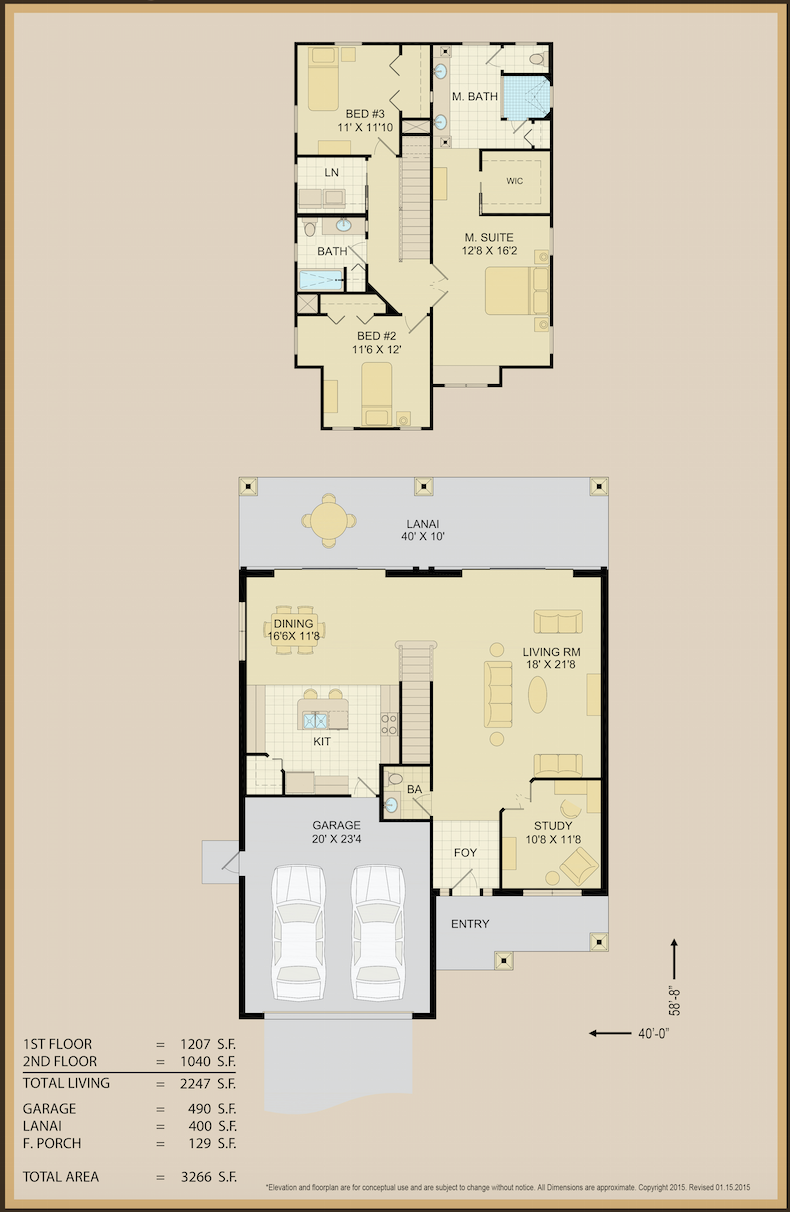 Jean Marie Floor Plan 2 | Covenant Homes