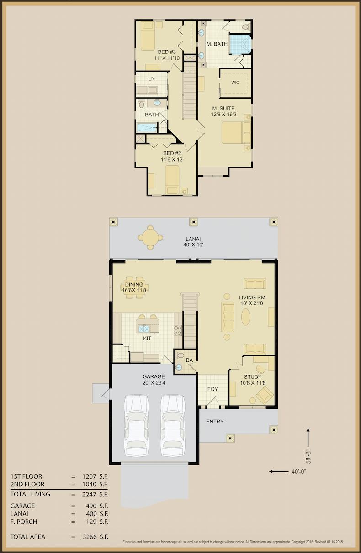 Jean Marie Floor Plan 2 | Covenant Homes