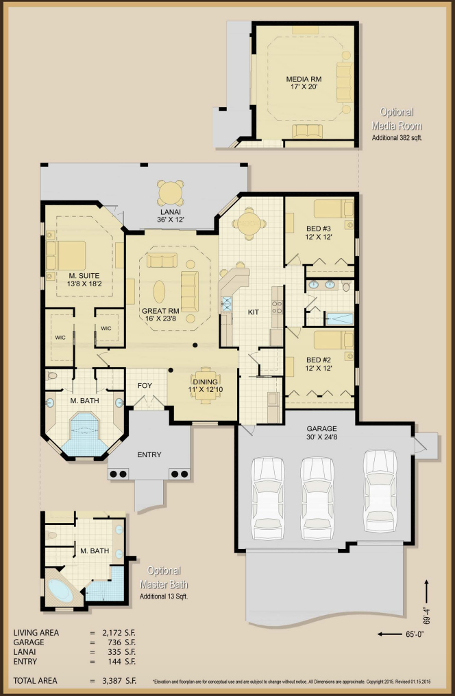 Patricia Anne Floor Plan Specs | Covenant Homes