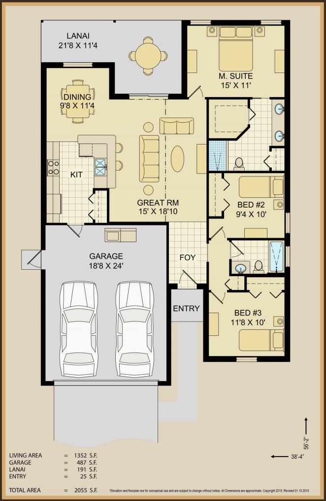 Celeste Home Floor Plan Image   Covenant Homes