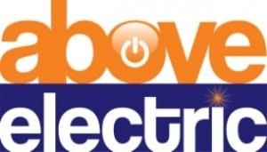 above electric logo