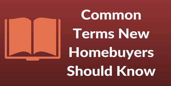 common new homebuyer terms