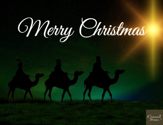 merry christmas from covenant homes