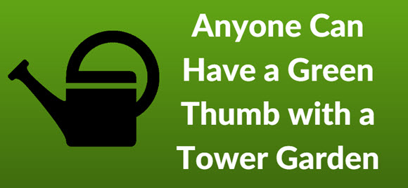 tower garden green thumb