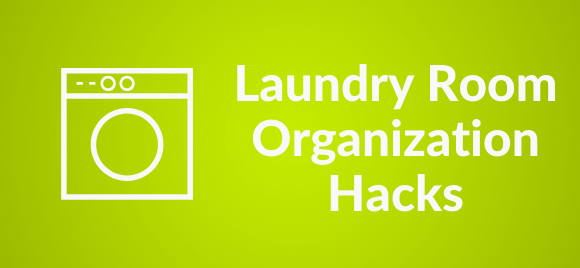 laundry room organization tips and hacks