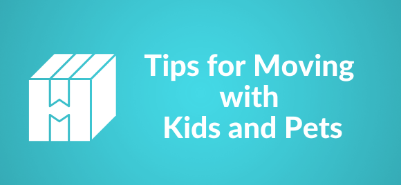 moving with kids and pets